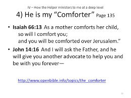 Holy Spirit My Comforter A Study Of The Holy Spirit By Catherine Marshall Ppt Download