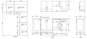 largeur plan de travail cuisine ilot de cuisine dimension en simple profondeur standard plan de