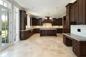 tiled kitchen floor ideas home design ideas