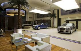 roll royce car inside rolls royce opens mega dealership in abu dhabi unveils phantom