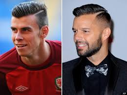 balesold hairstyle on kids ricky martin copies gareth bale s haircut