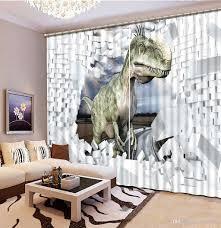 2017 fashion 3d home decor beautiful home curtains birck animal