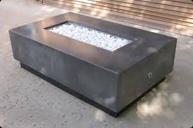 Rectangle Fire Pit - concrete pete u2013 rectangular firepit raleigh nc