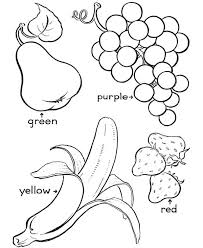 inspiring idea autumn fruit coloring pages fruits page free