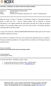 Proprietary Trading Resume Derivatives Broker Options Trading Levels