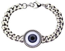 blue eye bracelet images Human eye bracelet jpg