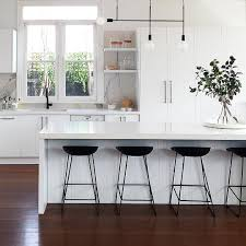 Black And White Kitchen Designs by This Striking Kitchen Design By Littlelibertyrooms Features Bold