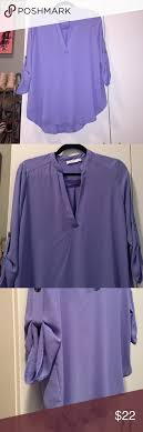 periwinkle blouse lush 3 4 sleeve periwinkle blouse lush conditioning and purple