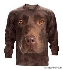 Chocolate Lab Meme - big face dog t shirts the mountain