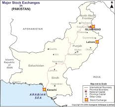 world map pakistan karachi pakistan stock exchange stock exchange pakistan lahore stock