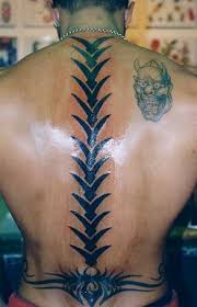 tattoo area cool new spine tribal tattoos design