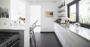 Galley Kitchen Layouts With Island Design Ideas For Small Galley Kitchens Stainless Steel Double Sink