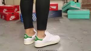 adidas stan smith women women s adidas stan smith og on feet video at exclucity youtube