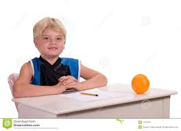 Student Desk Clipart Student At Desk Stock Photos Image 1370763
