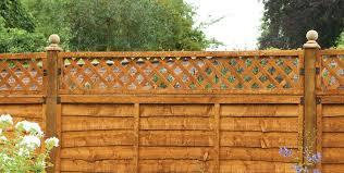 how to attach trellis to a fence green garden