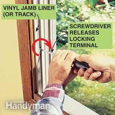 how to fix a glass door how to fix a double hung window family handyman