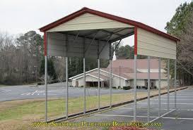 Steel Car Port Vertical Roof Steel Carport Vc 5