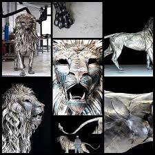 metal lion statue 222 best sculptures images on sculptures water