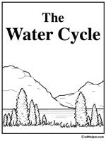 water cycle worksheets edhelper com