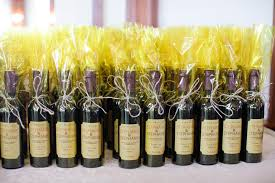 wine bottle favors mica yellow clear above the closer unique idea decor wine bottle