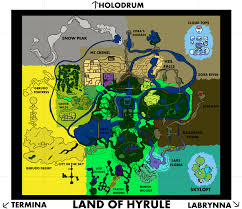 twilight princess map i liked twilight princess because it connected everything in my