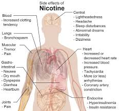 feeling light headed after smoking cigarette how long does nicotine stay in your system blood urine hair test
