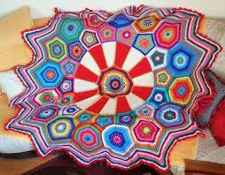 stin with danke mit mosaic häkelfieber spiration challenge 02 2017 carousel blanket