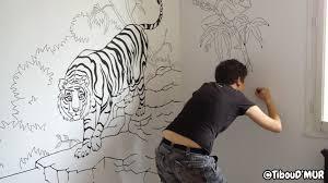 dessin mural chambre tagre chambre fille best chambre orange et jaune girlystan