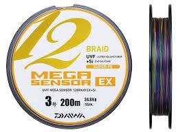 si e v o plat daiwa uvf mega sensor 12 braid ex si 3 0 24 8kg 300m line