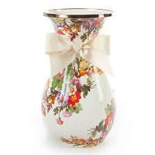 Vase Tall Mackenzie Childs Flower Market Vase Tall