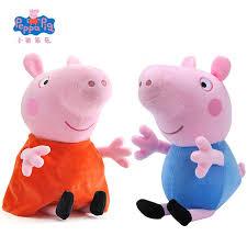 Peppa Pig Plush Original Brand Peppa Pig Plush Toys 19cm 7 5 Peppa George Pig Toys