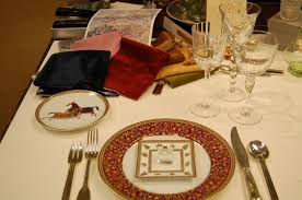 how to set a table u2013 and dress a large dining room for a party