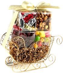 mini holiday sleigh 8pk u2022 holiday nut gift baskets u2022 holiday