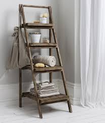 Large Ladder Bookcase Unusual Leaning Ladder Bookshelf Also Leaning Ladder Shelf Oak