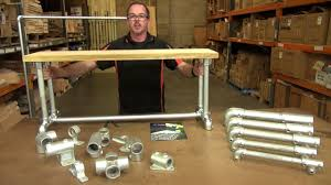 how to build a coffee table bench from interclamp galvanised