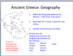 blank map of ancient greece ancient greece murphsite