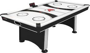 atomic 2 in 1 flip table 7 feet atomic blazer 7 air hockey table s sporting goods