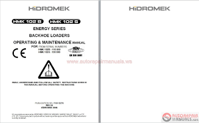 hidromek full set manual dvd auto repair manual forum heavy