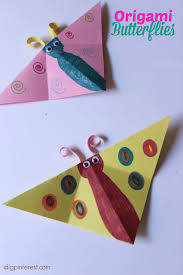 origami butterflies kids craft i dig pinterest