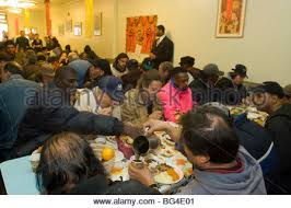 thanksgiving dinners served at the park slope christian help chips
