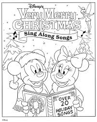 singing mickey mouse christmas coloring pages 1284 mickey mouse