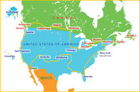 map us mexico border states canada maps best of map and us picturesque creatopme new york