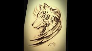 tribal wolf designs for and