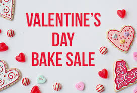 valentines sale s day bake sale quincy college