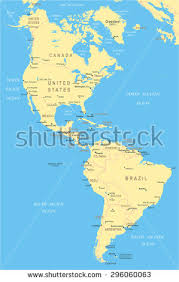 map of south america vector color map south america stock vector 219147841