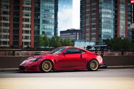 Nissan 350z Red - twin turbo 2003 nissan 350z goes from show to race car photo