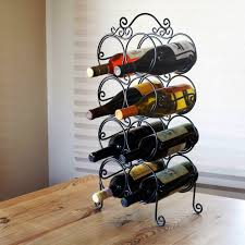 modern countertop wine racks countertop wine rack for pretty
