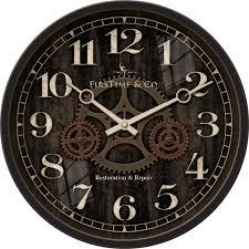 beautiful gear wall clock about my blog