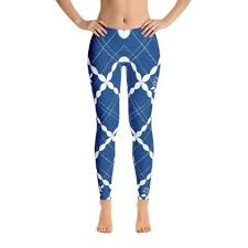pattern leggings pinterest nautical blue pattern leggings leggings famenxt leggings