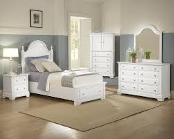 White And Mirrored Bedroom Furniture Vaughn Bassett Furniture Cottage Collection Featuring Panel